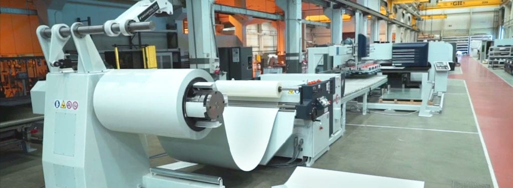 Automated Fabrication Danobat Laser Punch, bend and fabrication machine